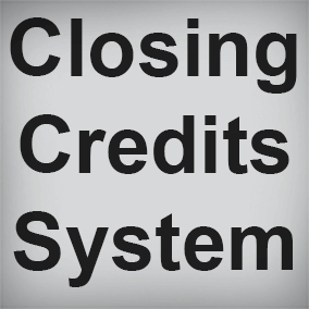 Closing Credits System allows you to easily create beautiful credits for your project.