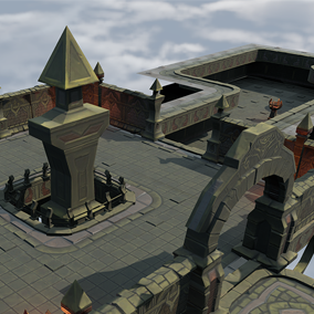 Let's get started on your fantasy dungeon game with these low poly and hand-painted 3D assets