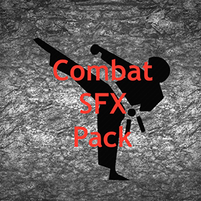 The hand to hand combat fx pack includes multiple sound effects that occur during a close quarters battle.
