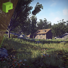 Country Side foliage pack brings drag and drop-able foliage assets for both desktop and mobile.