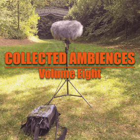 "Each library of the ""Collected Ambiences"" series features 33 various Stereo Ambiences. All recorded with Sound Devices 744T, Beyerdynamic MC930 ORTF, RODE NT1-A, RODE NT4 or Sony PCM-D100. All files were cleaned, edited and most of the files loop smooth."