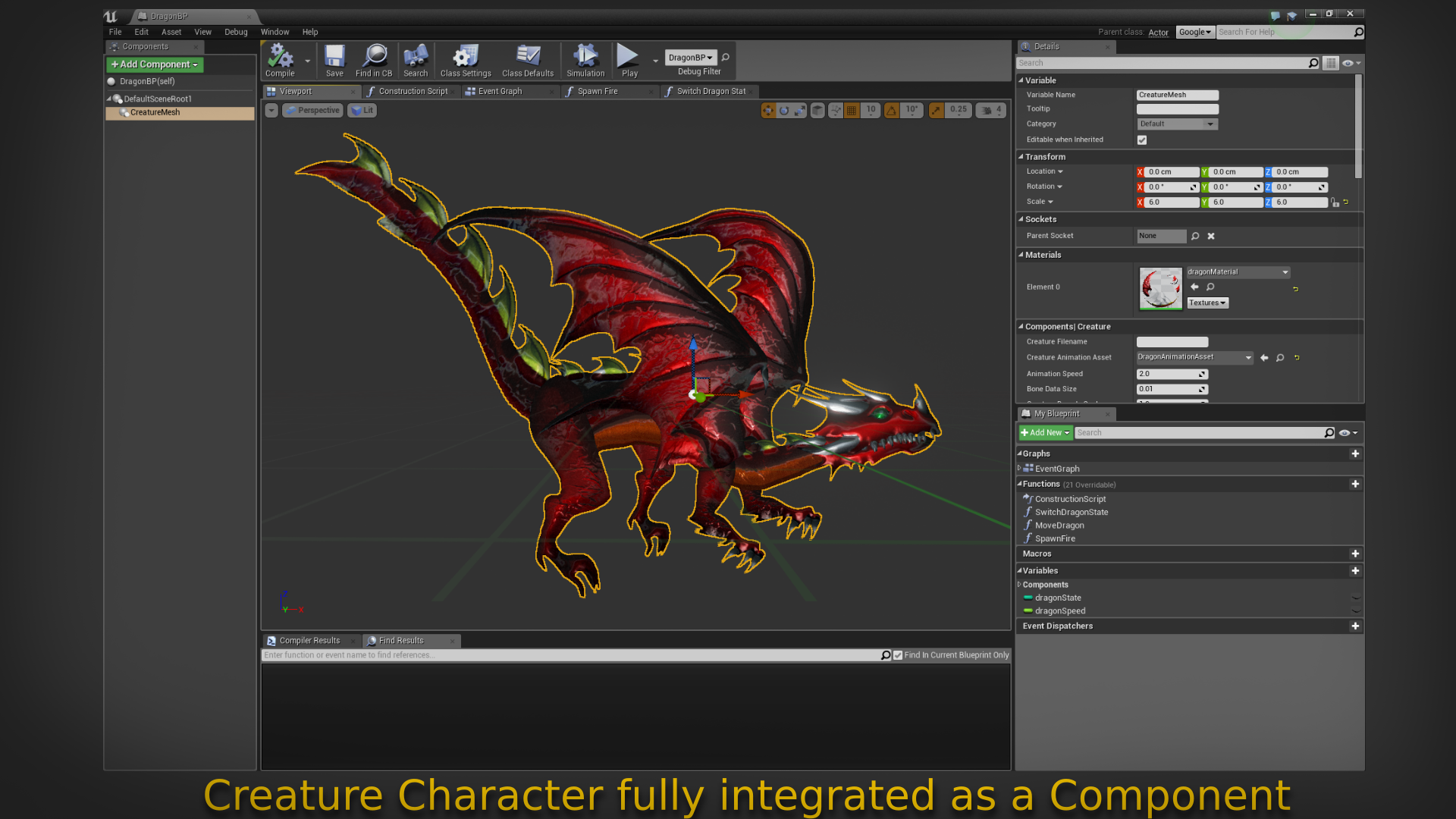 Creature 2D Skeletal and Mesh Animation by Jiayi Chong in