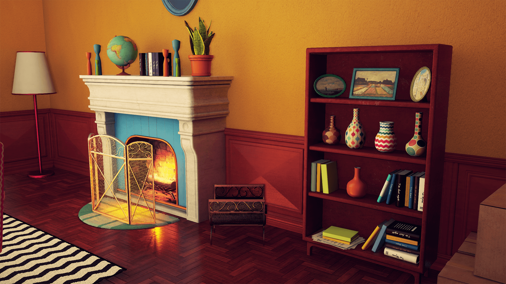 customizable retro living room unreal engine forums
