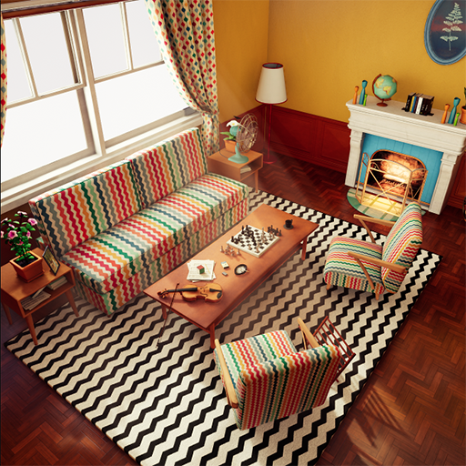 A comfy retro living room that can be customized. This project contains AAA quality assets and visual.