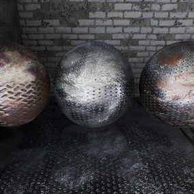 42 Materials with a 112 seamless HQ textures (4096px).