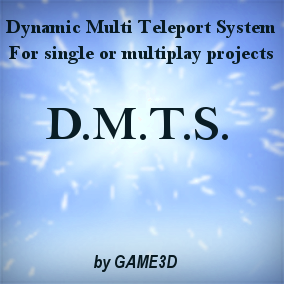 This is a blue print based teleporter system for multiple portals. You only need to place the teleport trigger to your world, and name the new portal like you want. Type in a group name, and only all teleporters of this group get listed in the UI.