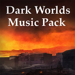 Dark Worlds Music Pack Vol. 1 is jam packed with 135 files and over 55 minutes of music, seamless loops and stings! Excellent for games and apps in the Sci-Fi, Horror, Drama, Tense, Suspenseful, and other worldly genres.