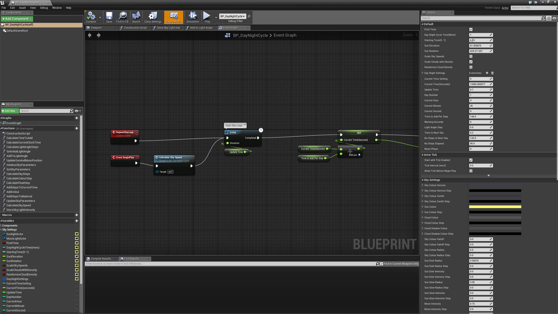 blueprint driven day night cycle by tharlevfx in blueprints ue4 blueprint driven day night cycle by tharlevfx in blueprints ue4 marketplace