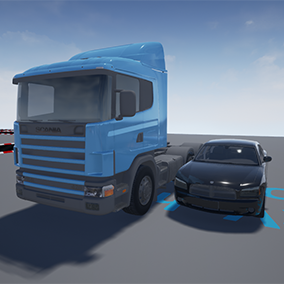 Implementation of PhysX Vehicles for Unreal Engine 4. Developed from scratch without using UE4 vehicle system.