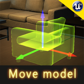 With this blueprint, you can control furniture moving, rotating, delete, copy, absorption, replacement material that use 3D arrow at runtime. You also can switch view modes (2D or 3D) to control it.