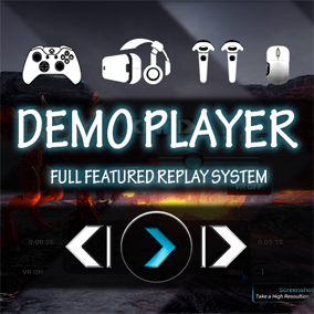 A complete Replay System with tools that take Amazing Screenshots of your game. Empower users to watch and create content of your game with this easy to use plugin.