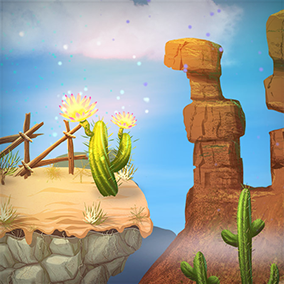 High-quality jungle assets. Perfect for 2D games such as platforms, shooter or endless runners.