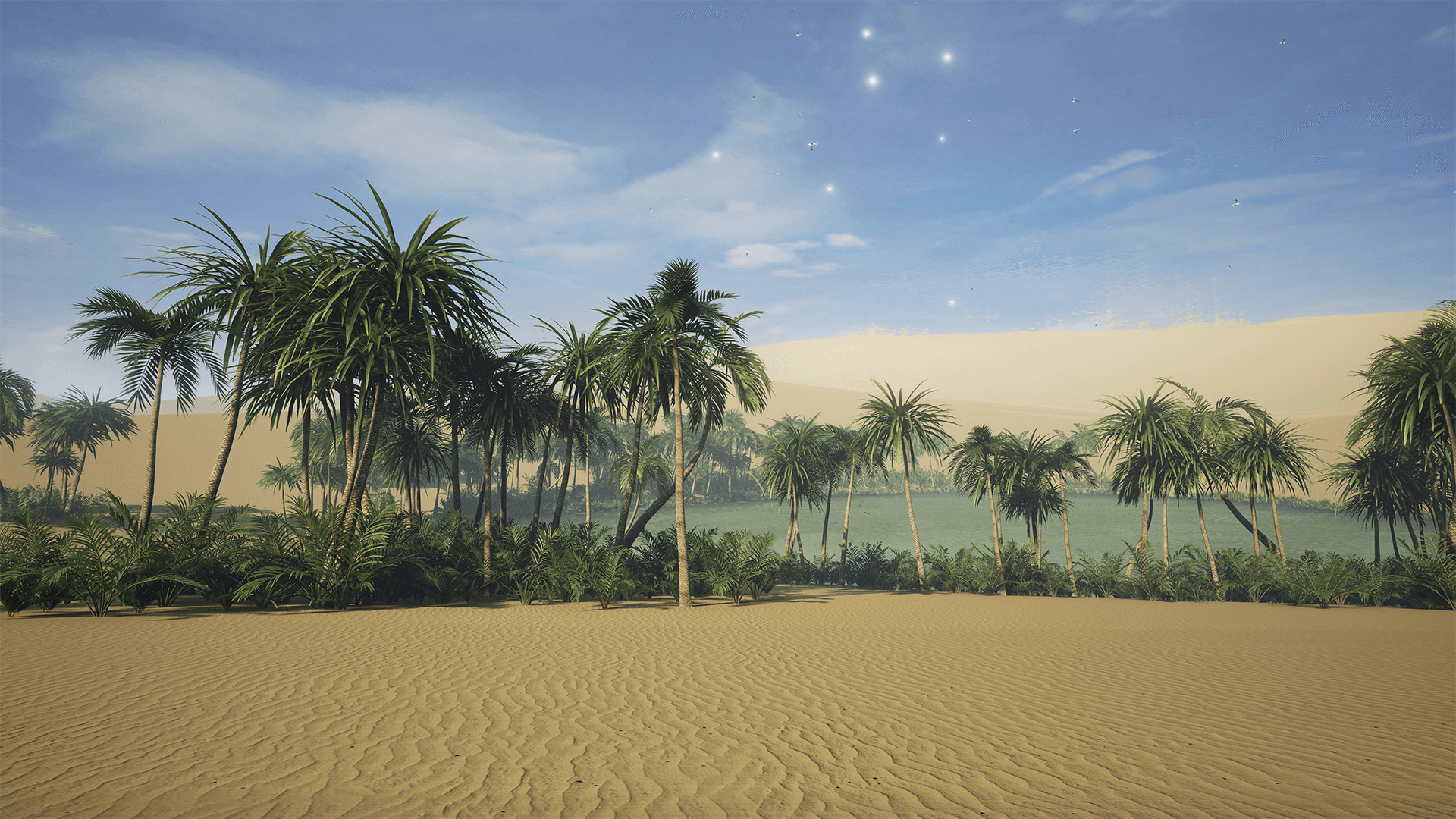 Desert Oasis By Mackenzie Shirk In Environments Ue4 Marketplace