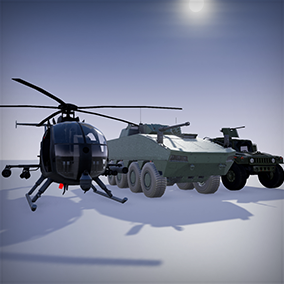 Fully functional vehicle pack, compatible with 4.17 release