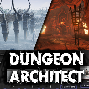 Dungeon Architect is a procedural dungeon generator that extends the UE4 Editor to help streamline the level creation process.