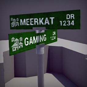 Easy to use actor blueprint which contains 4 different configurations of street signs.
