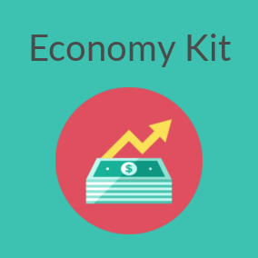 Economy Kit features the tools you need to create an economy in your project.