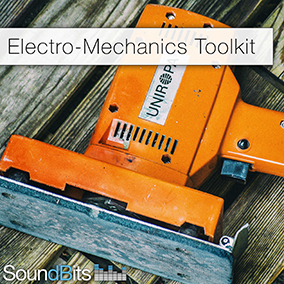 "The ""Electro-Mechanics ToolKit"" Sound Effects Collection features a wide range of versatile electric and some mechanic motors, engines, tools and toys."