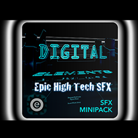 High Tech SFX will give you a complex, designed, advanced digital collection of custom audio assets!
