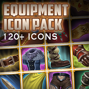 Large package full of a diverse set of fantasy armor and weapons perfect for RPGs and MOBAs.