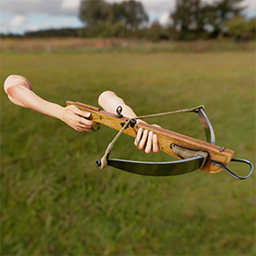 European Crossbow with 4K textures, 3 LODs, & free fully animated / rigged arms. Save 25%!