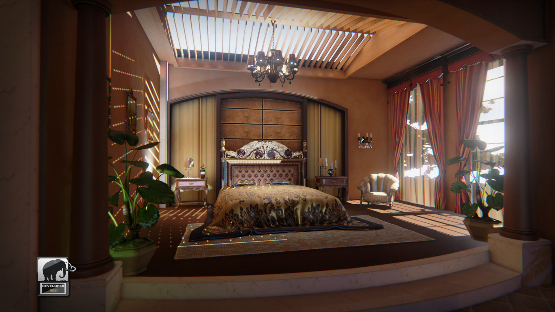 European Furniture by Cui Wei in Props UE4 Marketplace