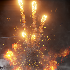 Explosions small, medium, or apocalyptic put the bang in your project.  Use the pre-made effects or create your own look with this high resolution builder pack.  Designed as a modular effect library, easily combine and modify new custom explosions.