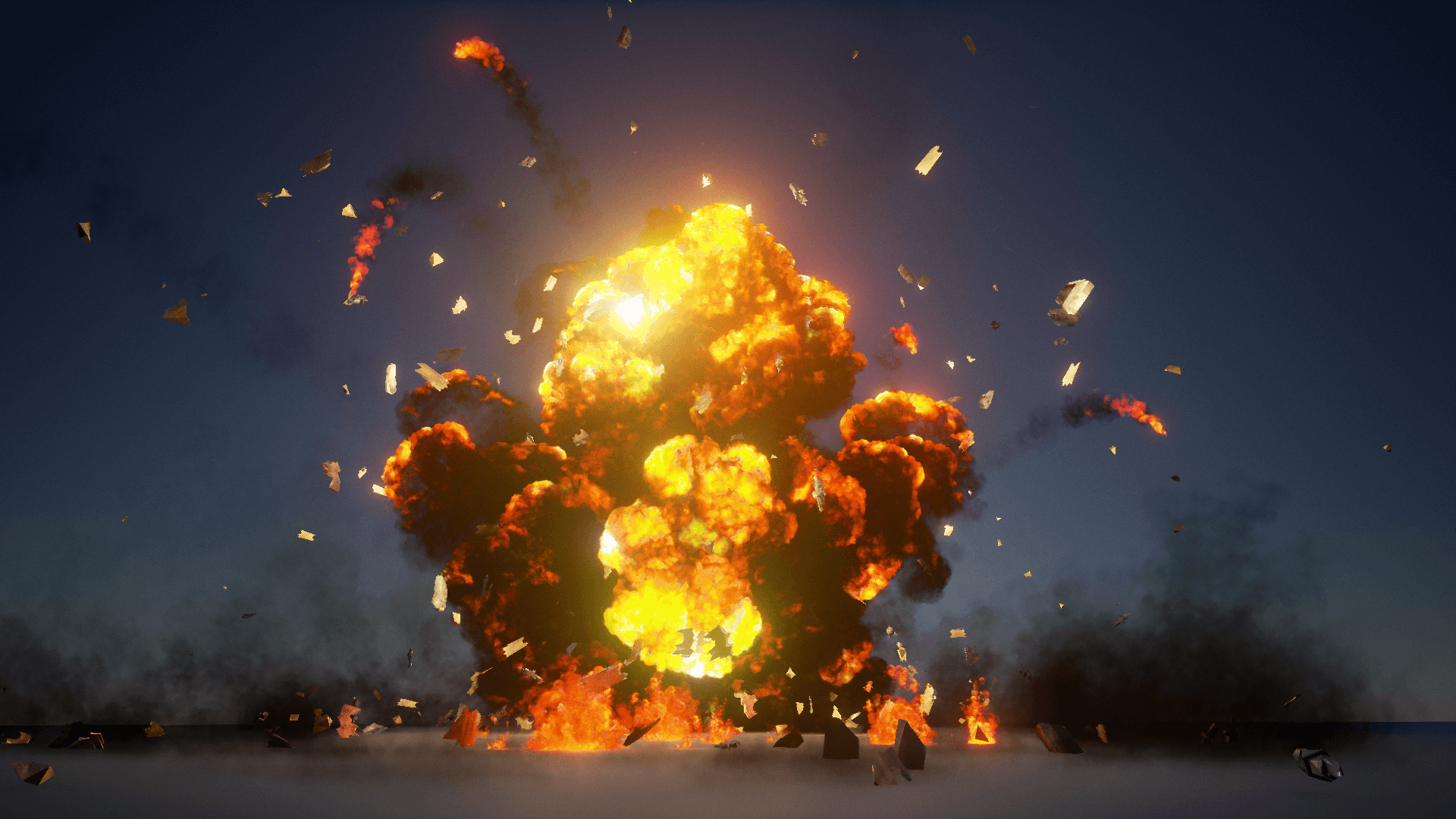The Explosions Mega Pack by Advanced Asset Packs in Visual Effects