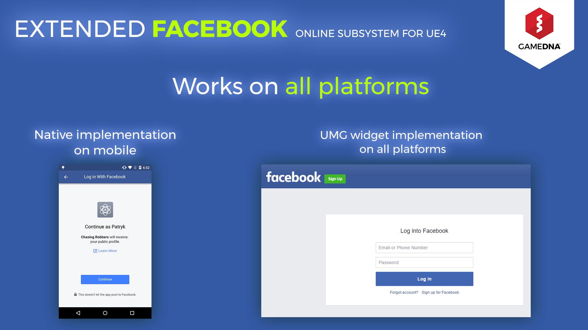 Continue with facebook sign up with email - Share