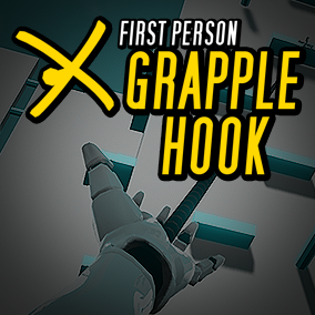 First Person Grapple Hook Blueprints.