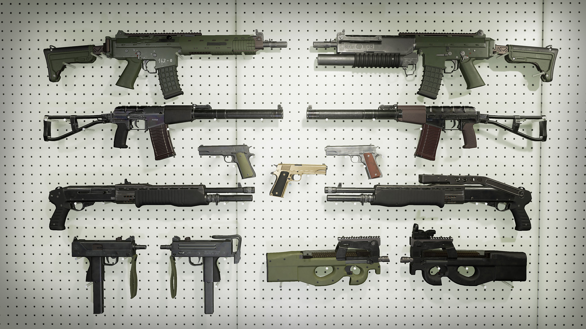 FPS Weapon Pack Vol 2 by Deadghost Interactive in Weapons - UE4