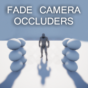 This is an actor component that detect and fade out every occluder in front of the camera.