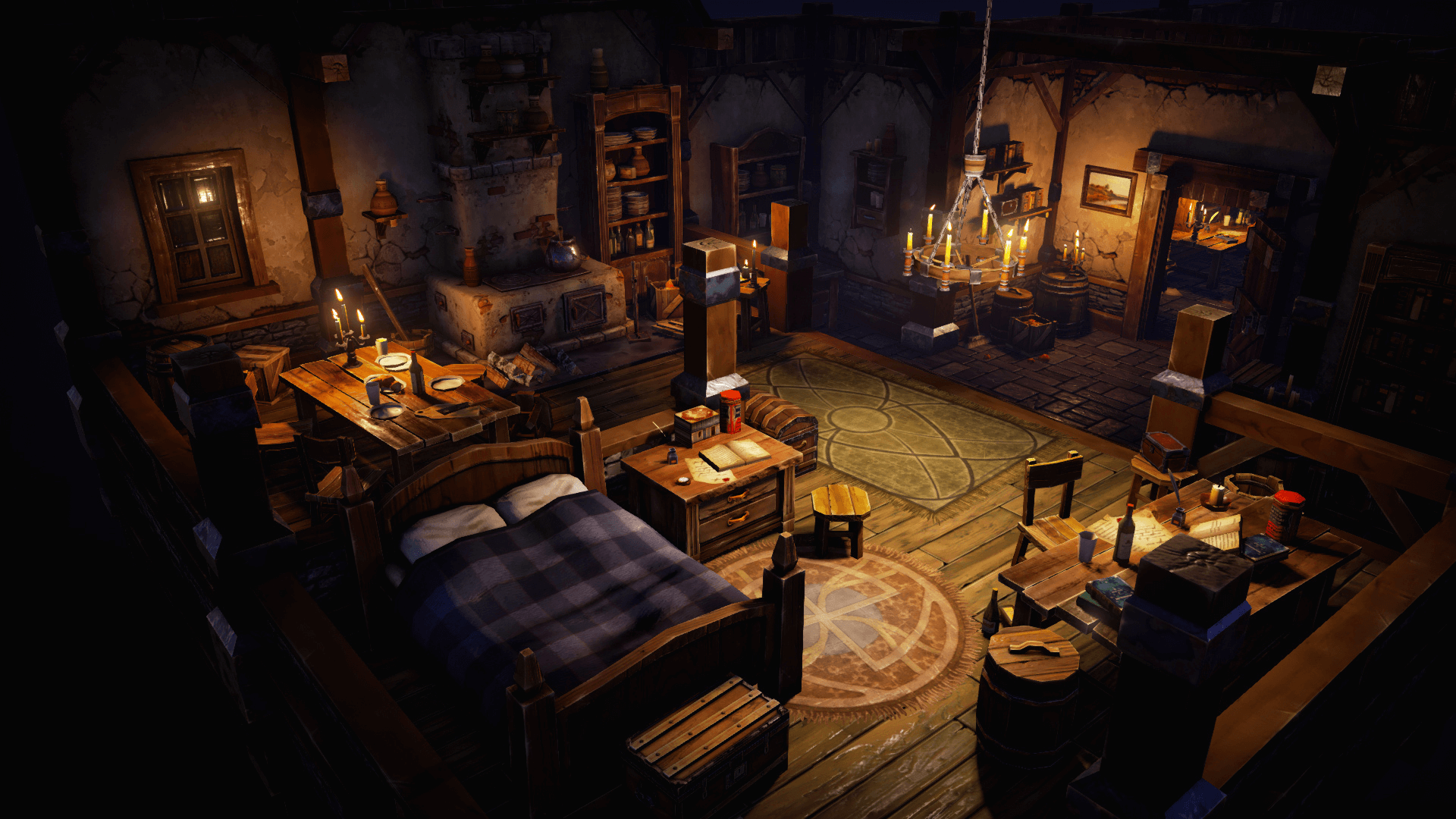 Top Down Fantasy Interior Pack By Victor Kudryashov In