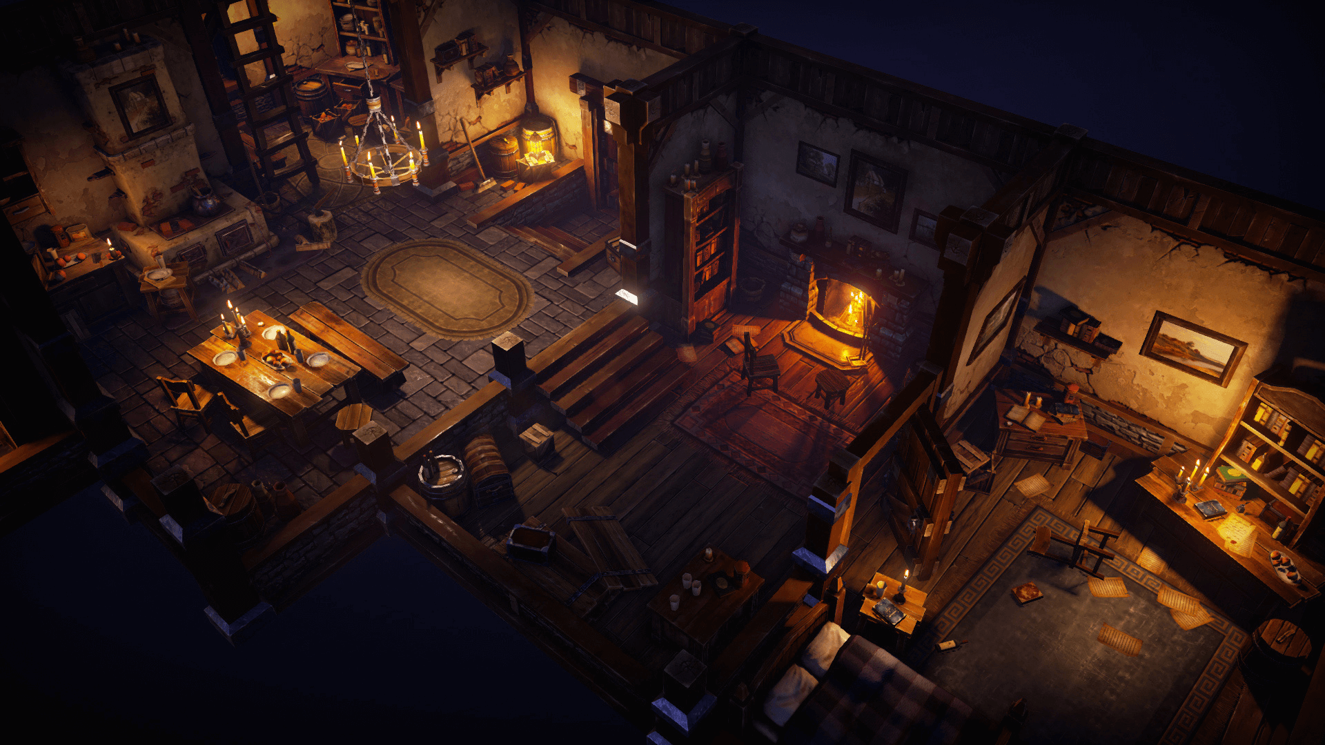 Top Down Fantasy Interior Pack By Victor Kudryashov In