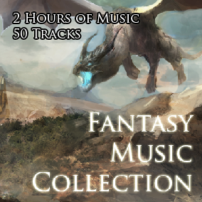 50 seamlessly looping music tracks perfectly suited for a fantasy game.
