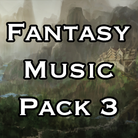 The final volume in the Fantasy Music Pack series, Fantasy Music Pack 3 packed with over 35 minutes of seamless looping music, sound effects and ambience fit for any fantasy based video game.
