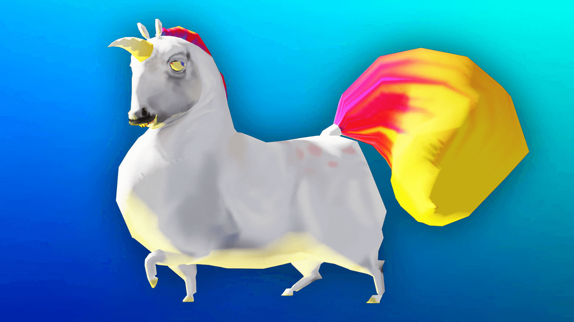 fat unicorn by digibuild in characters ue4 marketplace