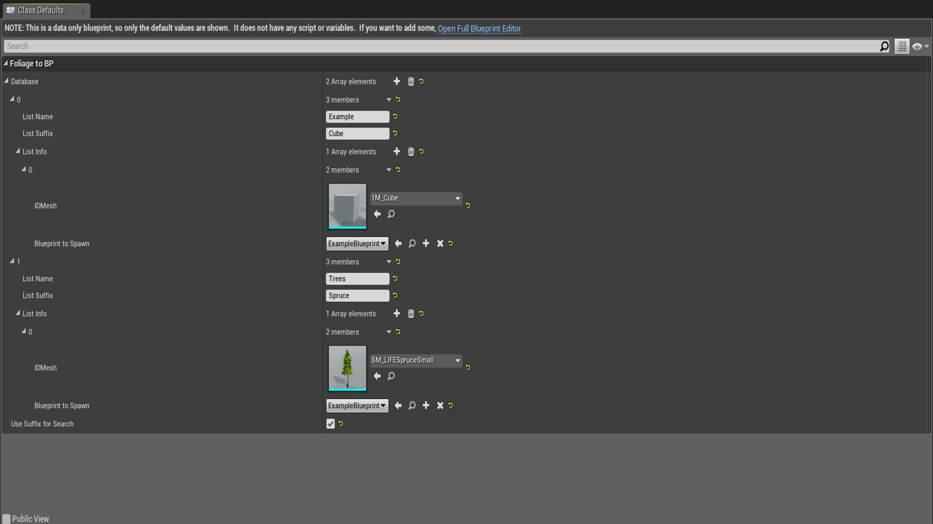 Foliage to blueprint by alvaro abreu in code plugins ue4 marketplace malvernweather Choice Image