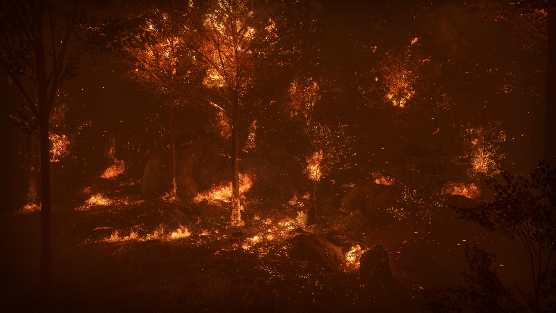 Forest Fire by Alexander Dracott in FX - UE4 Marketplace