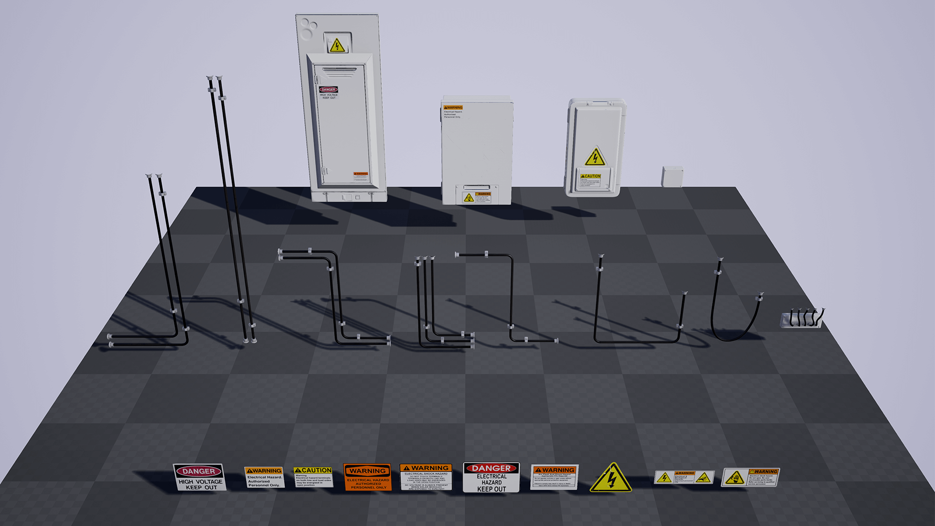 Fuse Box Studios Trusted Wiring Diagrams 1920 Electrical Boxes And Wires Pack By Matima Studio In Props Ue4 Rh Unrealengine Com