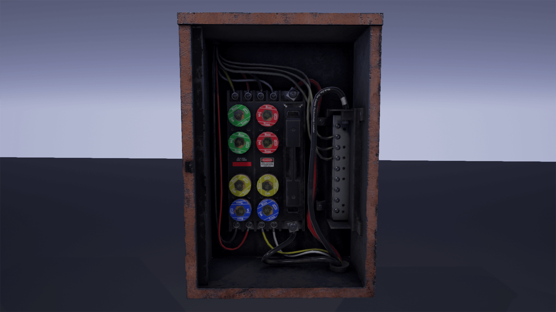 fuse box pack by hyoungjo kim in props