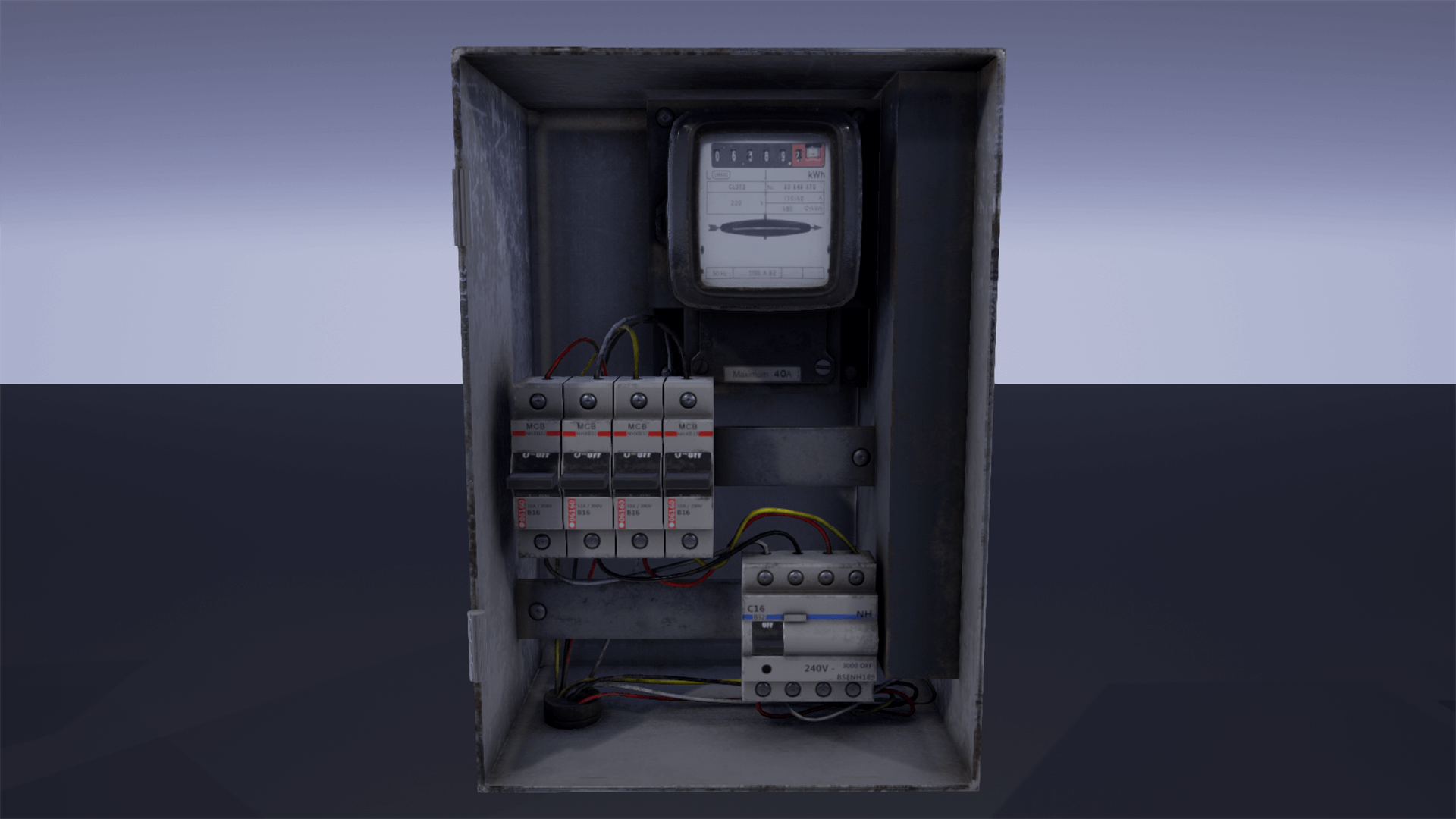 fuse box pack by hyoungjo kim in props ue4 marketplace  fuse box texture #49