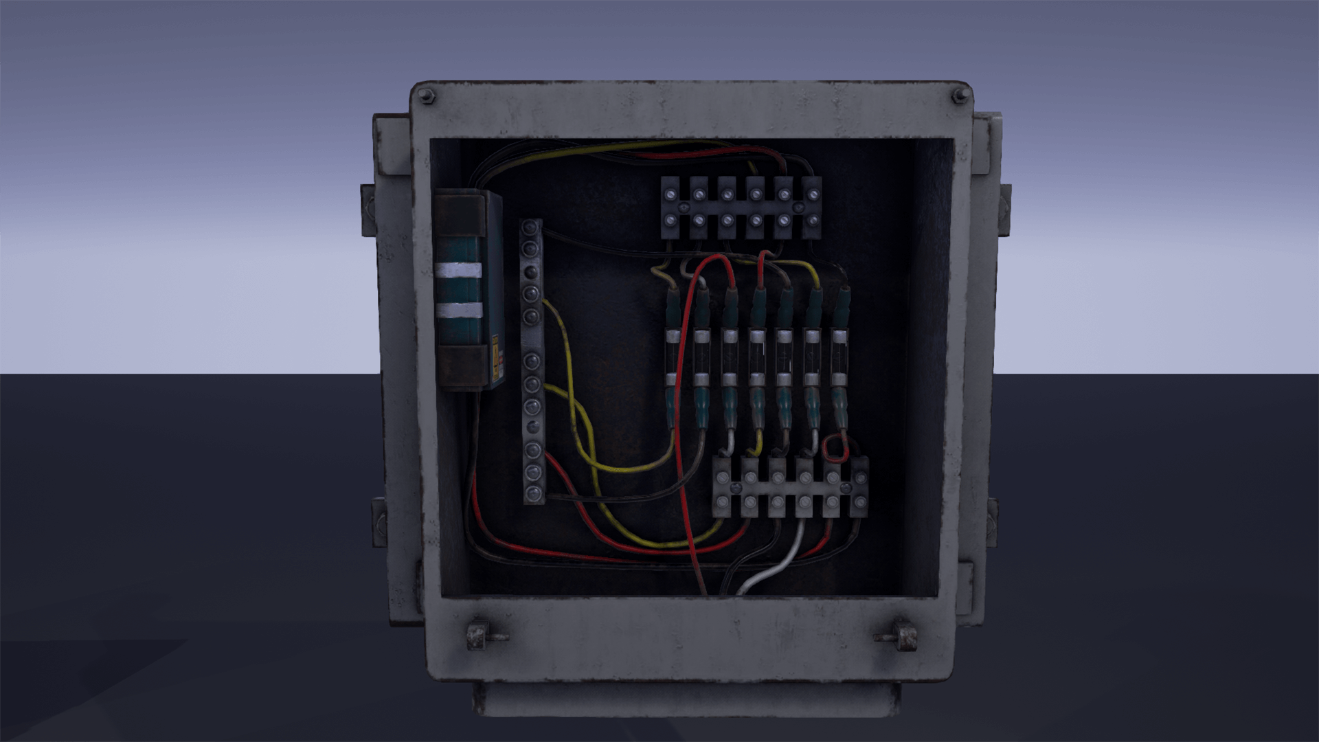 Fuse Box Pack By Hyoungjo Kim In Props Ue4 Marketplace Electric Main