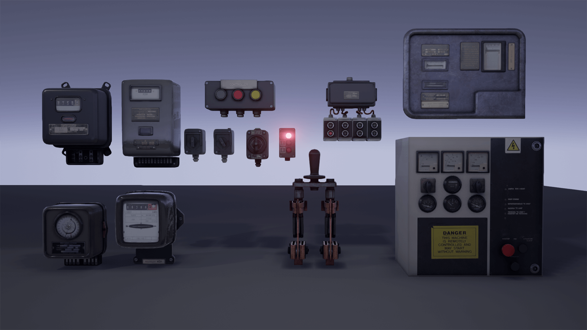 Fuse Box Pack By Hyoungjo Kim In Props Ue4 Marketplace 1920