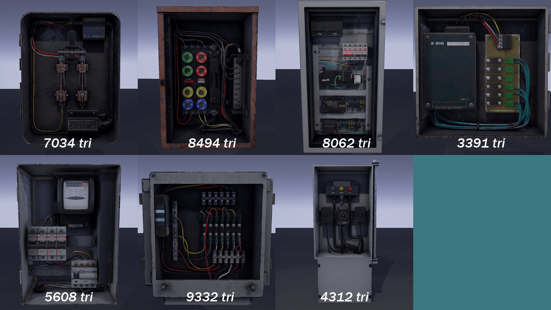 Fuse Box Pack By Hyoungjo Kim In Props Ue4 Marketplace The Game