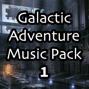 Galactic Adventure Music Pack 1 has over 10 minutes of seamless looping music and stems perfect for any Sci-Fi based video game.
