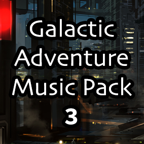 Galactic Adventure Music Pack 3 is the third volume in a series of seamless looping music tracks and stems perfect to drop into any Sci-Fi based video game.