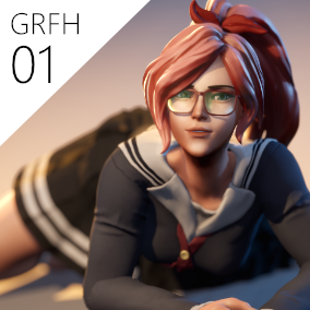 High quality customizable female character, ready to be implemented on your game. Compatible with the Epic skeleton and bundled with cloth sets, items, 3rd person template and animations from Epic.