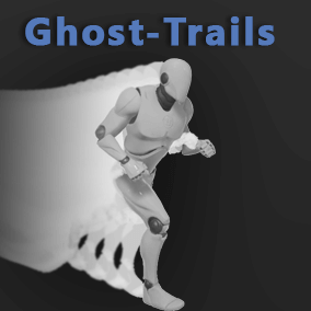 Ghost trails system that allows you to make meshes to cast trails.