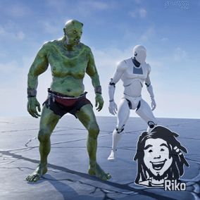 90 mocap animations, perfect for heavy and huge monster or giant.
